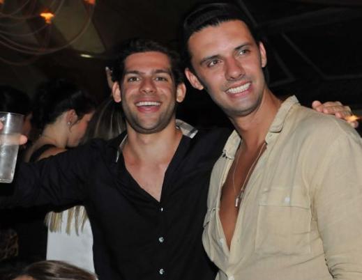 Eduardo Buffara e Junior Lopes