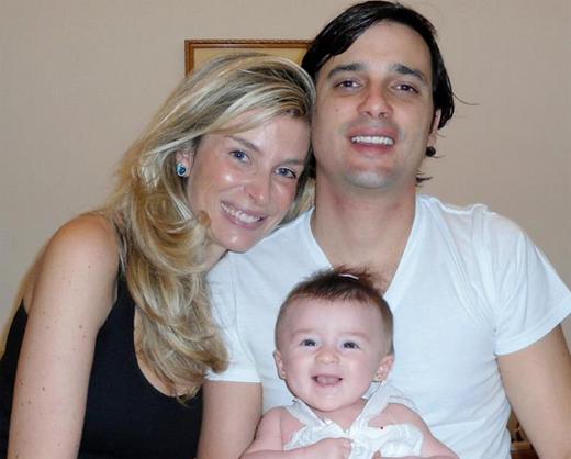 Joanna e família