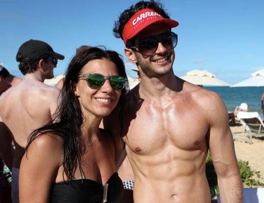 Michelle Louverdes e Eduardo Cervone
