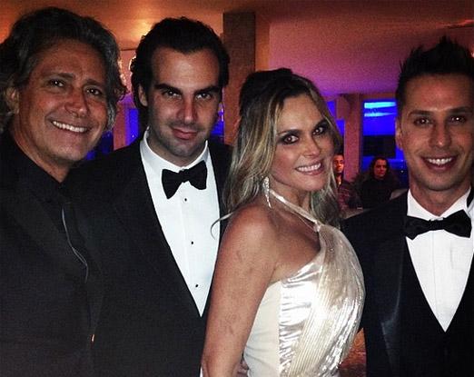 Cacá de Souza, Alexandre Furmanovich, Fernanda Barbosa e Caio Fischer