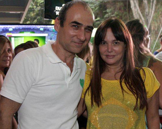 Amir Slama e Jacqueline Shor