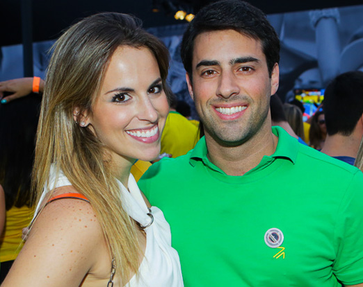 Beatriz Manrubia e Felipe Scarpa