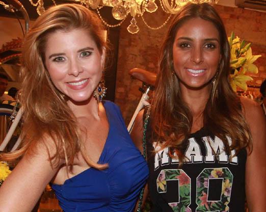Bianca Marques e Flávia Sampaio