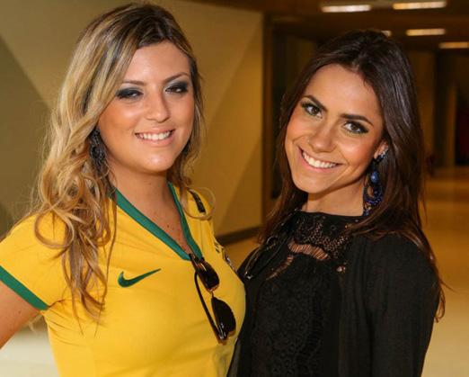 Casa Pelé do Futebol - Mayra Carvalho e Mel Lima