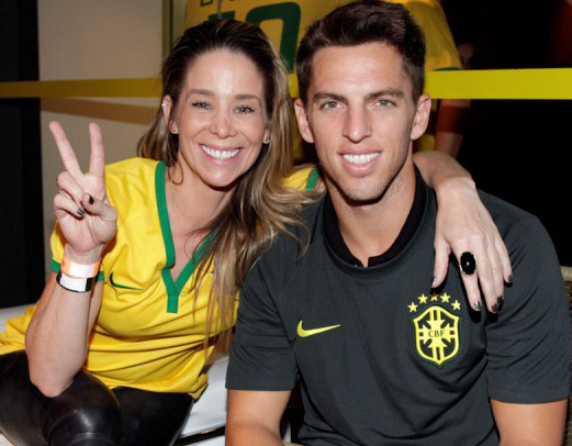 Danielle Winits e Amaury Nunes