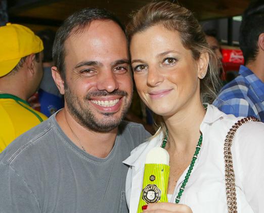 Felipe Aversa e Lucila Cafaro