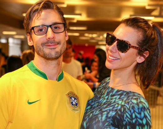 Gabriel Paiva e Elaine Becker