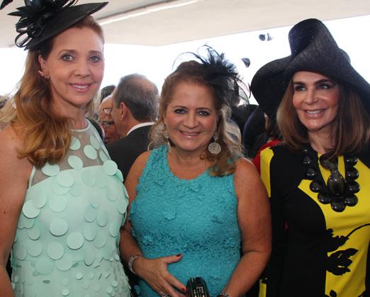 Kátia Spolavori, Renata Fraga e Helen Barcellos