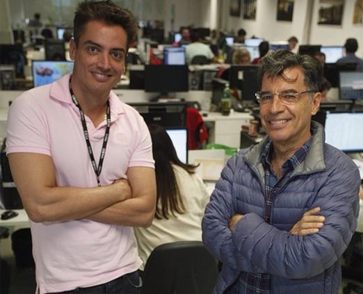 Leo Dias e Paulo Betti