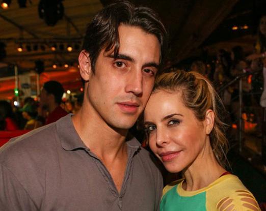 Leonardo Carmel e Ana Paula Junqueira