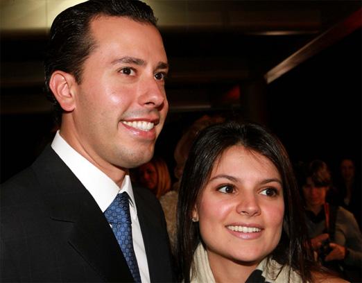 Mario Sérgio e Sophia