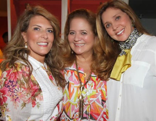 Renata entre Sandra Vaccaro e Kátia Spolavori