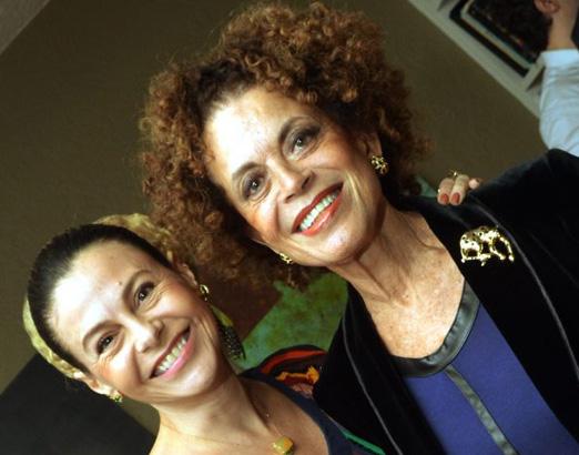Yara Figueiredo e Maria Alice Celidônio