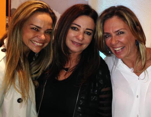 Carol, Hosana e Márcia