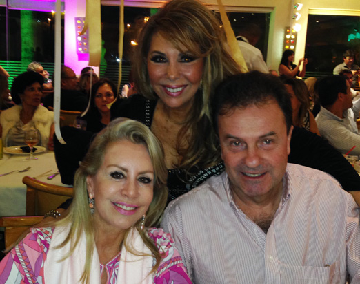 Terezinha com Marise e Silvio