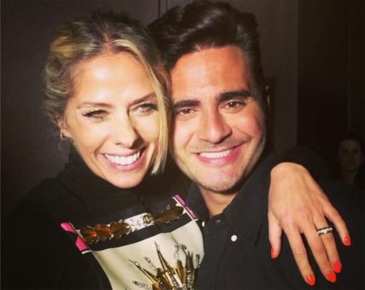 Adriane Gslisteu e Sergio K