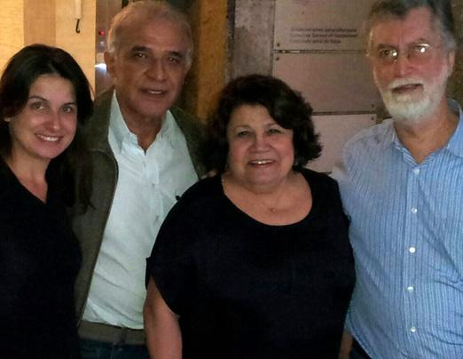 Andrea Dufles, Sergio Nogueira Lopes, Norma Suely e Manuel Alberto