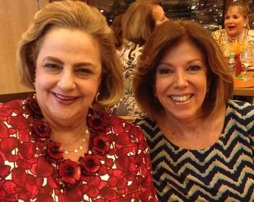 Cristina Aboim e Sylvinha de Castro