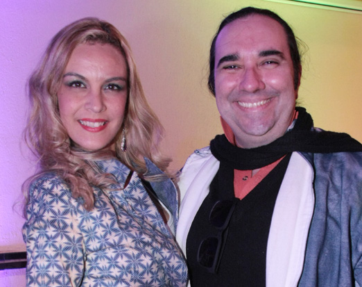 Danielle Cesar e Helcio Hime