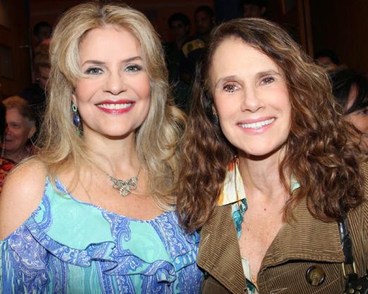 Sylvia Bandeira e Xuxa Lopes
