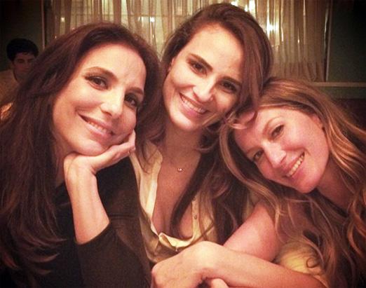 Ivete, Fernanda e Gisele