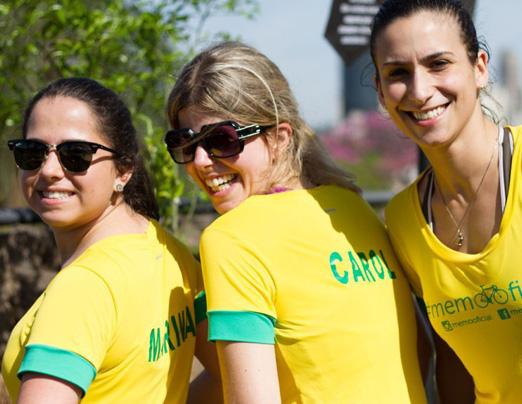 Marina Fenerich, Carolina Machado e Domi Hadade