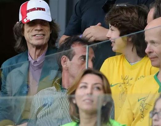 Mick Jagger e Lucas