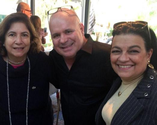 Mariana Peixoto, Eder Meneghine e Raquel Rezende