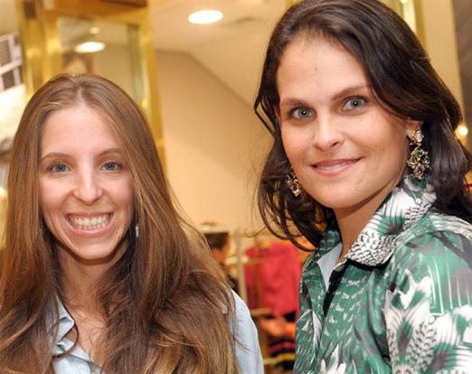 Stella Jacintho e Luciana Faria