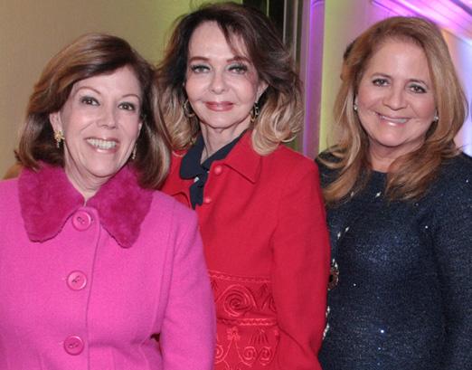 Sylvinha de Castro, Vera Loyola e Renata Fraga