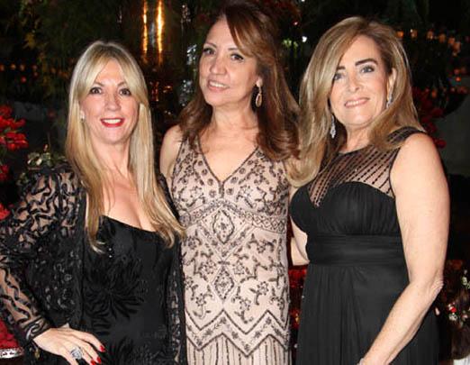 Teresinha Matta, Sumaya Neves e Leila Albuquerque