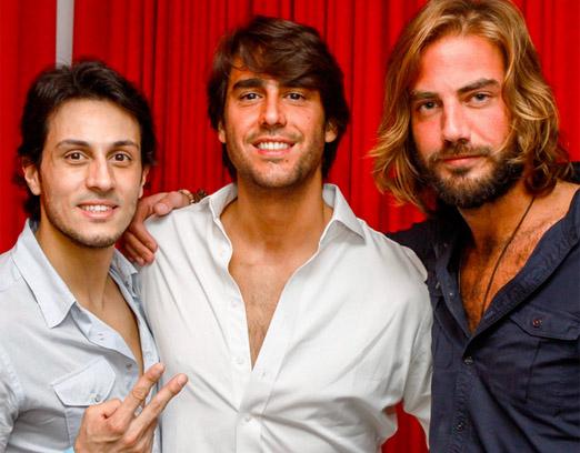 Thiago, Paulo e Mario