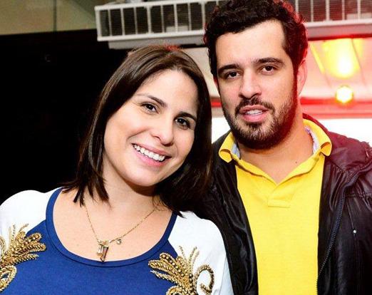 Vivian Hipólito e Rodrigo Carozzi na Arena Brahma