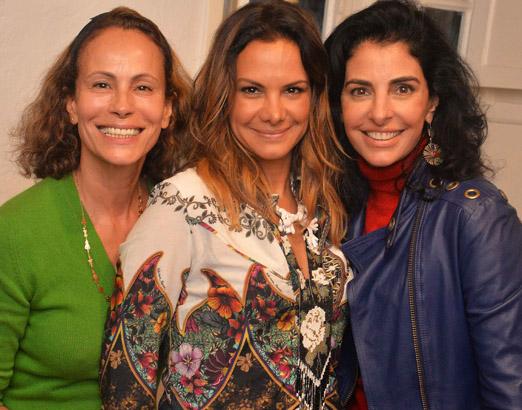 Andrea Dellal, Adriana Barra e Antonia Frering