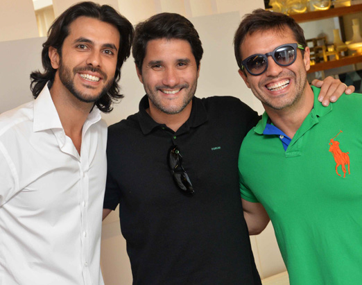 Artur Fernandes, Fabio Bouillet e Alexandre Cardim