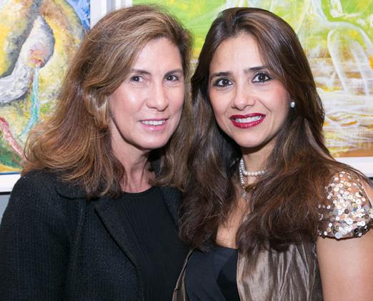 Berenice Sofiete e Ana Teresa Patrão
