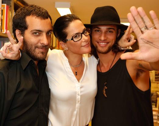 Candé Salles, Paula Klien e Pablo Morais