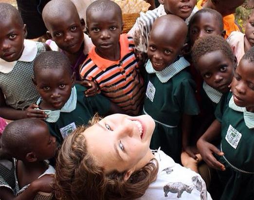 Catharina e crianças