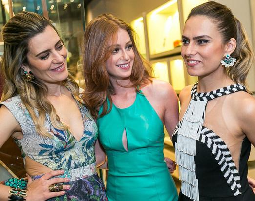 Claudia, Marina e Patrícia