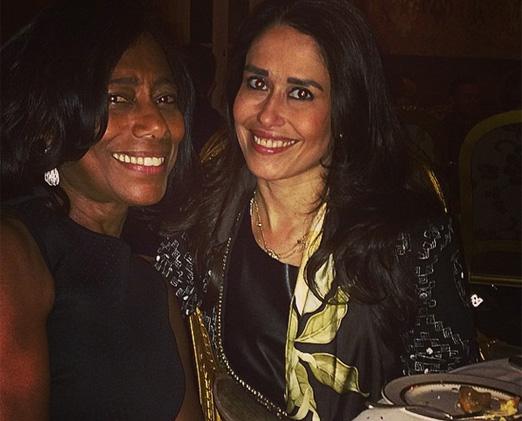 Glória Maria e Paula Severiano Ribeiro