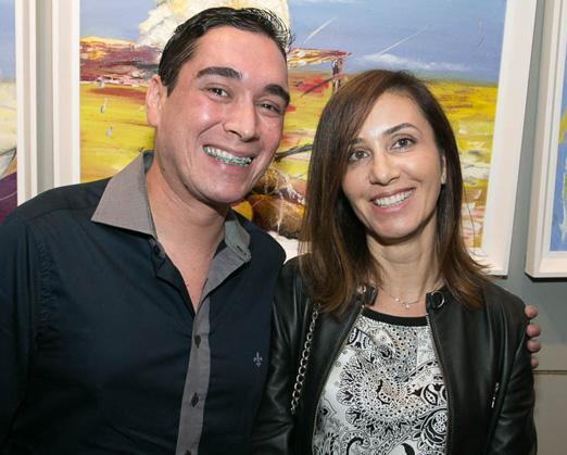 Hugo Oliveira e Janette Vieira