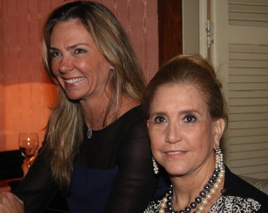 Márcia Veríssimo e Madeleine Saade
