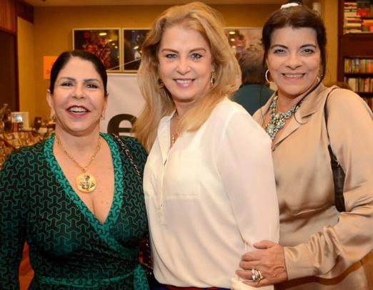 Marilene Mattos, Inez Costa e Rose May Addario
