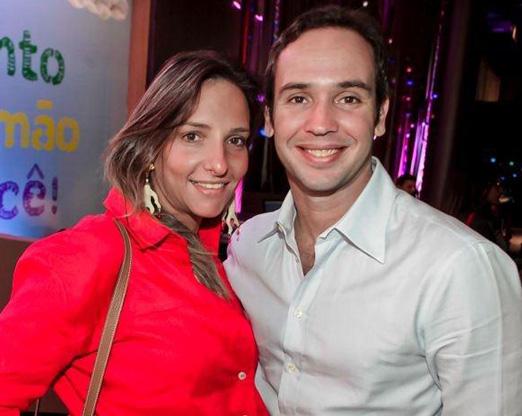 Renata e Caio Ribeiro