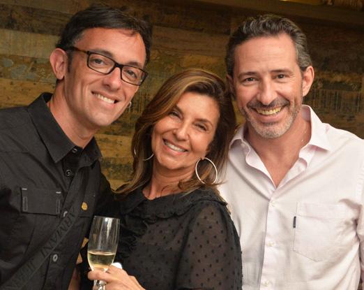 Rodrigo Jorge, Lenora Lohrisch e Marcelo Maksoud