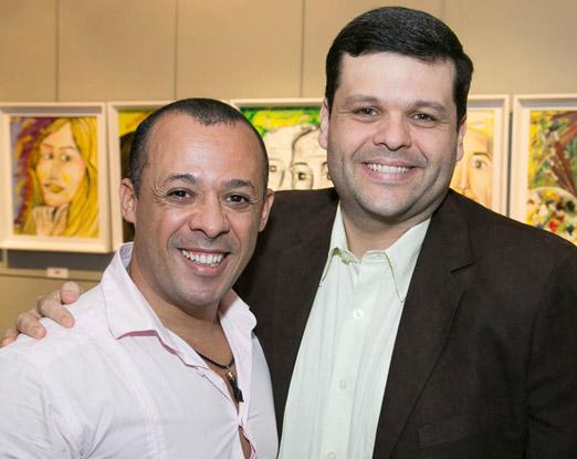 Silvio Borges e Carlos Lamoglia
