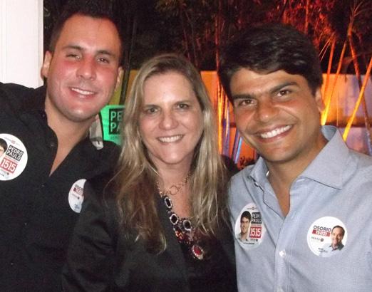 André Barbosa, Maninha e Pedro Paulo