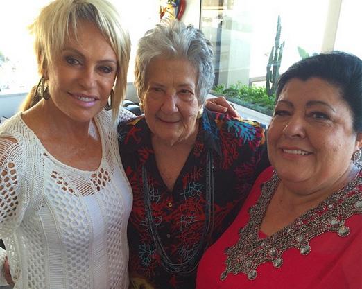 Ana Maria Braga com Iva e Doroti