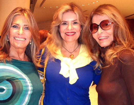 Ana Maria, Sylvia e Romy