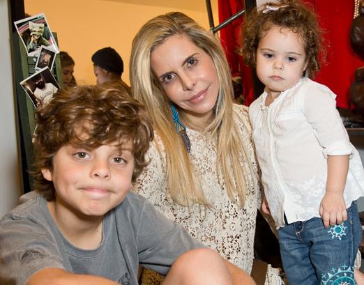 Astrid, Antonio e Stella